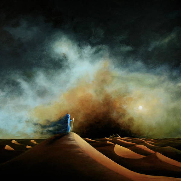 Painting - When The Boy Becomes The Wind by Ric Nagualero