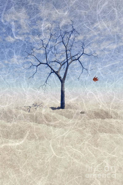 Wall Art - Painting - When The Last Leaf Falls... by John Edwards