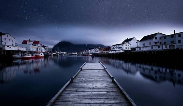 Wall Art - Photograph - When The Night Comes Falling From The Sky by Lior Yaakobi