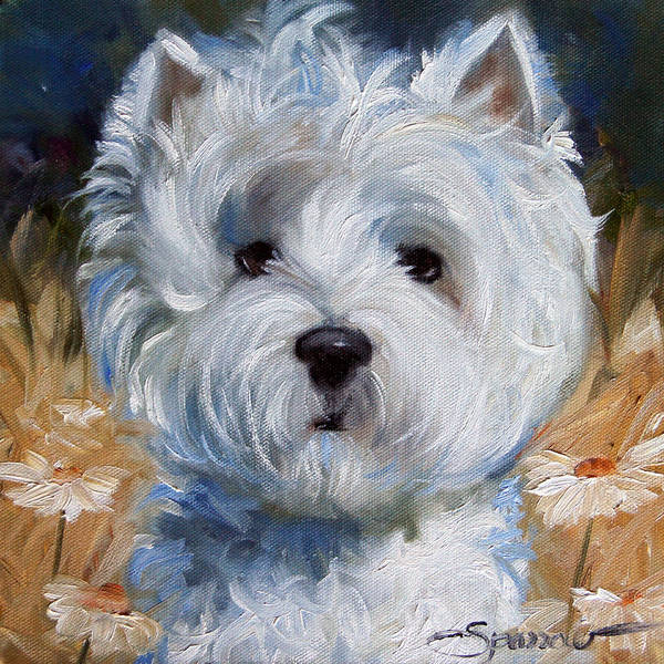 Benny Painting - When The Wind Blows by Mary Sparrow