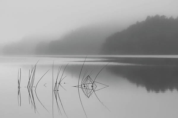 Lake Photograph - When You Can Hear The Silence by Benny Pettersson