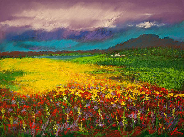 Painting - Where Birds Fly by David Patterson