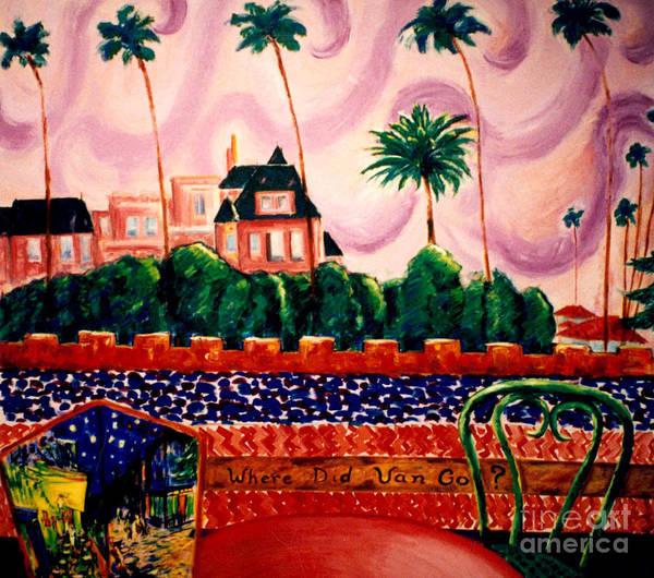 Wall Art - Painting - Where Did Van Go? by Karen Francis