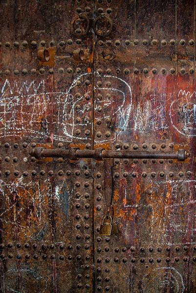 Marrakech Door Art Print