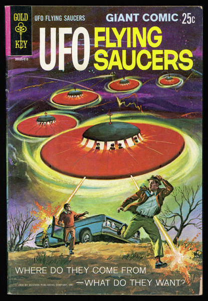Saucer Drawing - 'where Do They Come From ? What by Mary Evans Picture Library