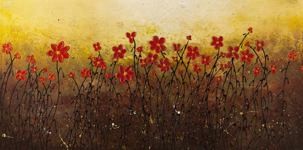 Painting - Where Happiness Grows by Carmen Guedez