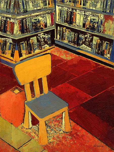 Painting - Where I Sit by RC DeWinter