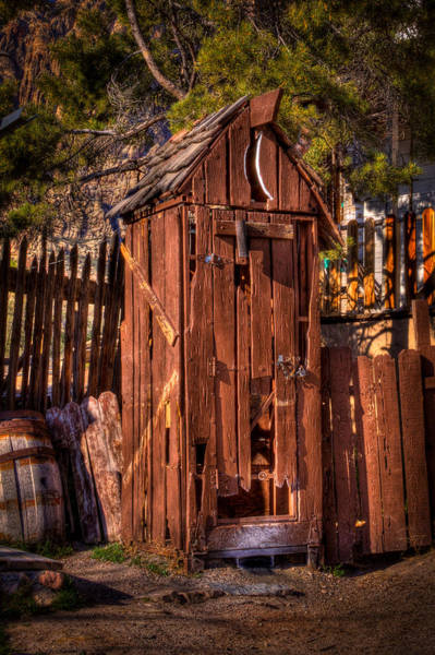 Privy Photograph - Where Is The Closest Bathroom? by David Patterson