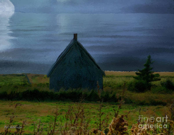Prince Edward Island Painting - Where The Moon Meets The Water by RC DeWinter