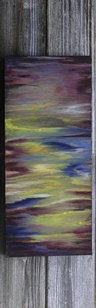 Wall Art - Painting - Where The Sky Meets The Water by Stacey Austin