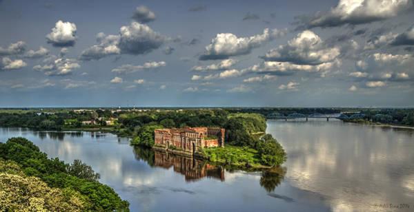 Where Two Rivers Meet Art Print