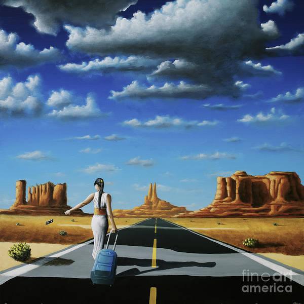 Painting - Wherever I May Roam by Ric Nagualero