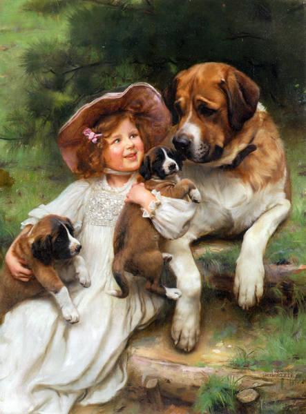Digital Art - Which May I Keep by Arthur John Elsley