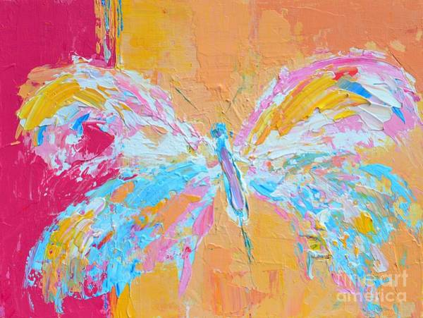 Painting - Whimsical Butterfly by Patricia Awapara