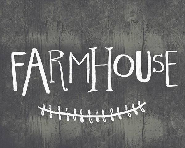 Farmhouse Kitchen Painting - Whimsical Farmhouse by Katie Doucette
