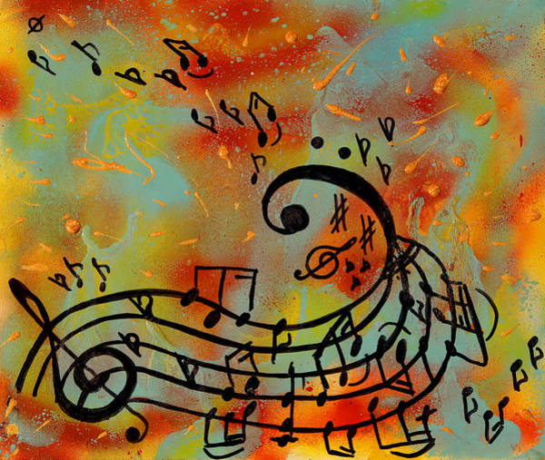 Painting - Whimsical Melody by Julia Apostolova
