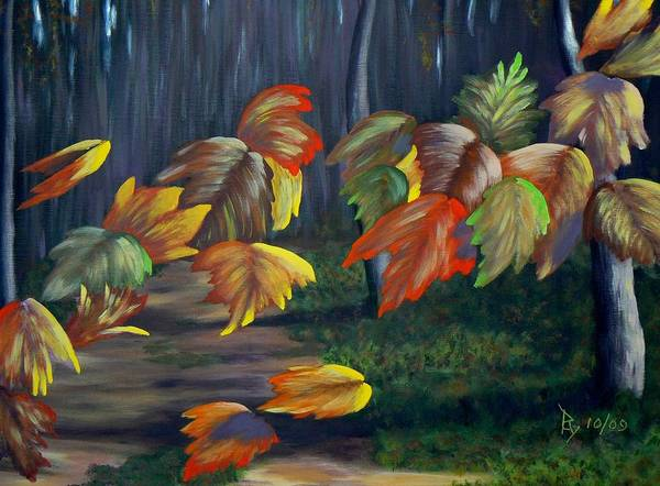 Painting - Whimsy by Ray Nutaitis