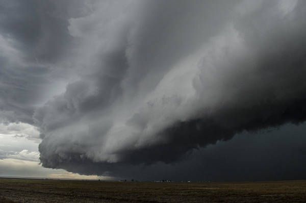 Shelf Cloud Photograph - Edge Of Darkness by Ben Corby
