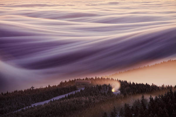 Waves Photograph - Whipped Cream by Martin Rak