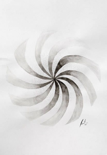 Spin Painting - Whirl by Sumit Mehndiratta