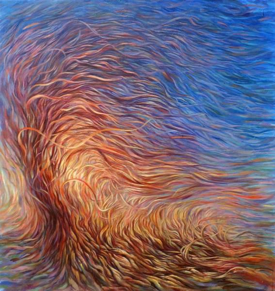 Hans Droog Wall Art - Painting - Whirl Tree by Hans Droog