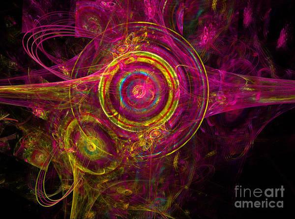Digital Art - Whirligig by Alexa Szlavics