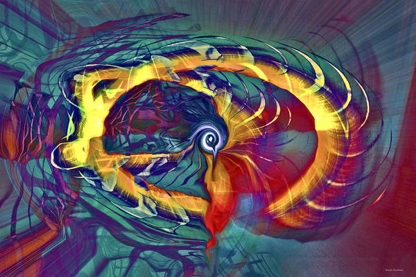 Whirlwind Digital Art - Whirlwind by Linda Sannuti