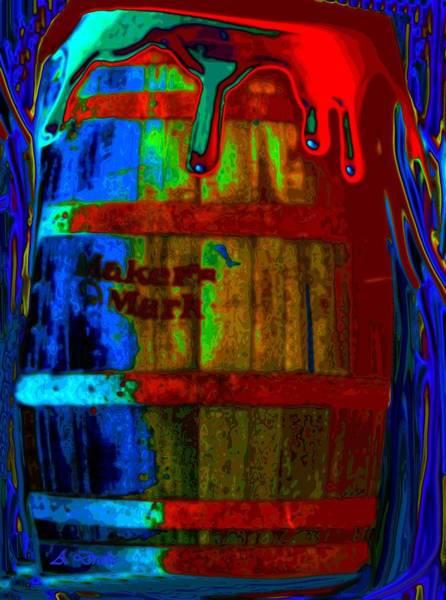 Digital Art - Whiskey A Go Go by Alec Drake