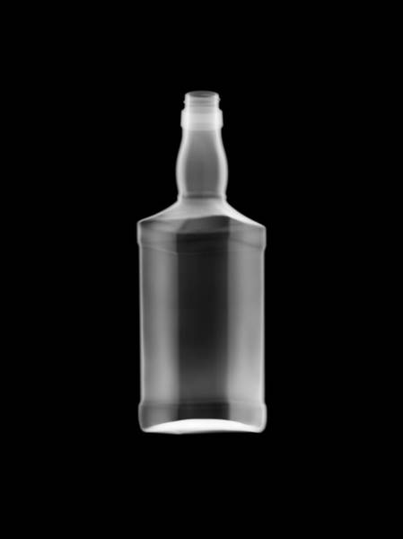 Photograph - Whiskey Bottle by Nick Veasey