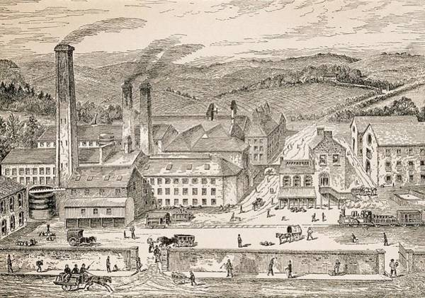 Distillery Photograph - Whiskey Distillery by George Bernard/science Photo Library