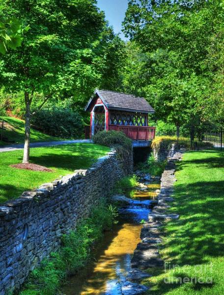 Photograph - Whisky Creek Bridge by Mel Steinhauer