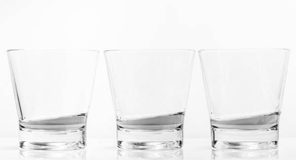 Photograph - Whisky Glasses by Gary Gillette