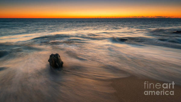Sandy Hook Wall Art - Photograph - Whisper Of A Wave Version 2 by Michael Ver Sprill