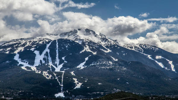 Ski Run Wall Art - Photograph - Whistler Mountain Bc by Pierre Leclerc Photography