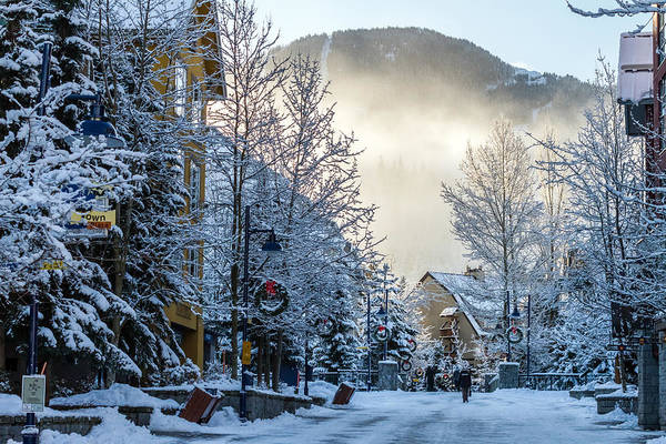 Photograph - Whistler Village On A Sunny Winter Day by Pierre Leclerc Photography