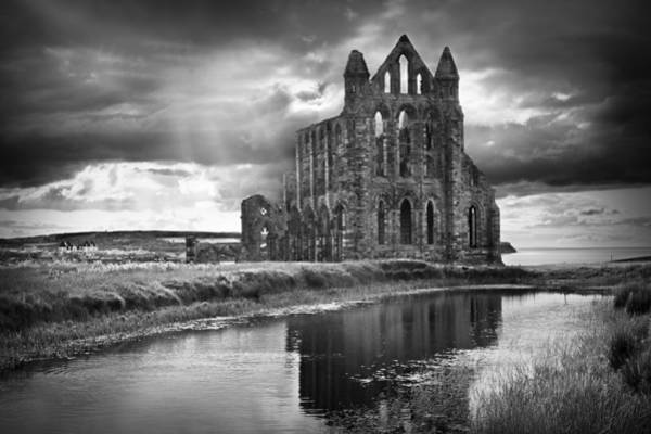 Abbey Photograph - Whitby Abbey by Ian Barber