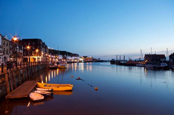 Photograph - Whitby Harbour by Stephen Taylor