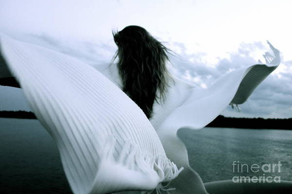 Photograph - White Angel by Jacqueline Athmann