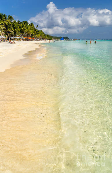 Wall Art - Photograph - White Beach Boracay by Adrian Evans