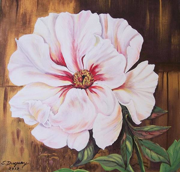 Painting - White Beauty by Sharon Duguay