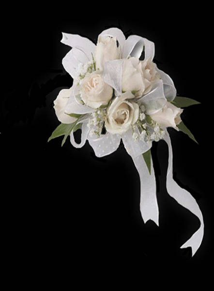 Digital Art - White Bridal by Dennis Buckman