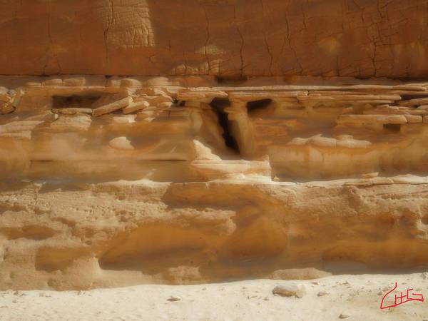 Photograph - White Canyon Desert Formations Egypt by Colette V Hera  Guggenheim