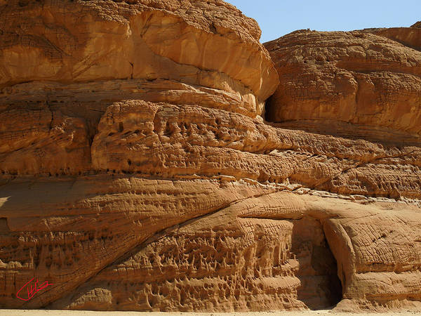 Photograph - White Canyon Desert Sinai Egypt  by Colette V Hera  Guggenheim