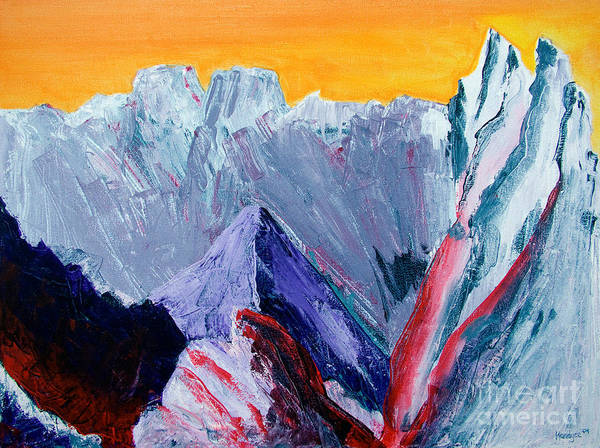 Painting - White Canyon by Kandyce Waltensperger