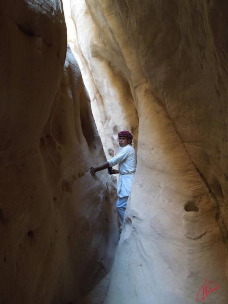 Photograph - White Canyon Path Desert Sinai Egypt by Colette V Hera  Guggenheim