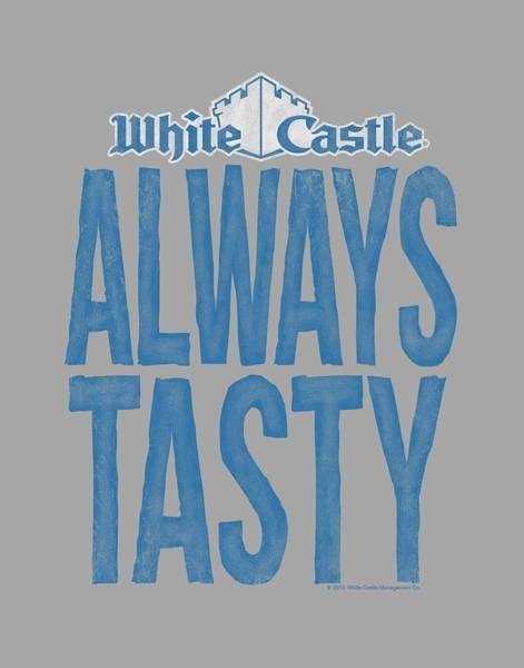 Novelty Digital Art - White Castle - Always Tasty by Brand A