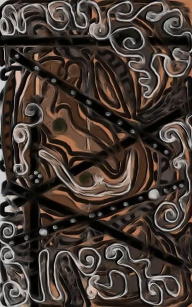 Icing Digital Art - White Chocolate Swirl Cake by Barbara St Jean