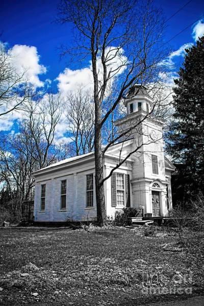 Photograph - White Church by Jim Lepard