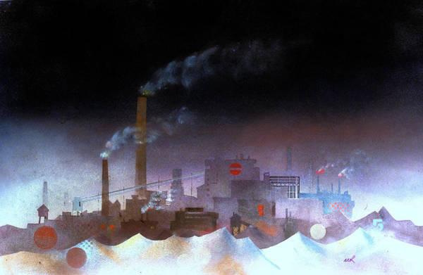 Painting - White Coal by William Renzulli