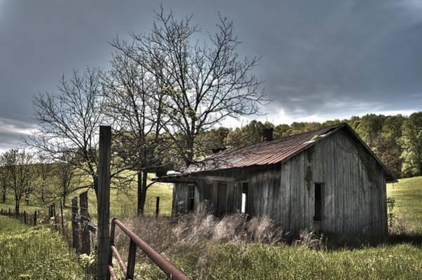 Photograph - White County Cabin by Carol Erikson